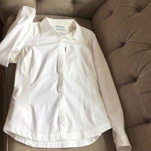 Columbia Omni-shade spf hiking shirt